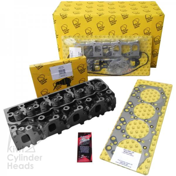 Isuzu 4JG2 Big Valve Complete Cylinder Head Kit - Ready to Bolt ON