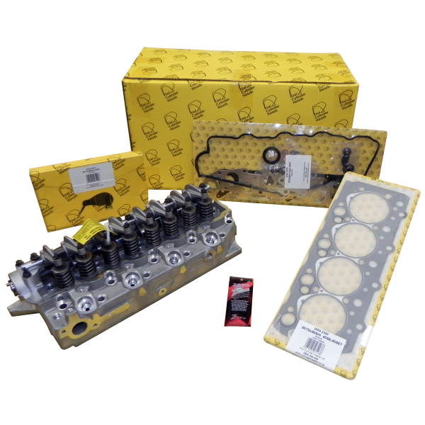 Mitsubishi 4D56A Complete Cylinder  Head Kit - Ready to Bolt On