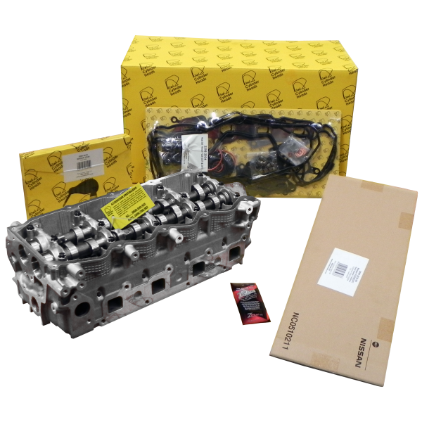 Nissan YD25 -  8 x Inlet Ports Non Common Rail Engine Complete Cylinder Head Kit