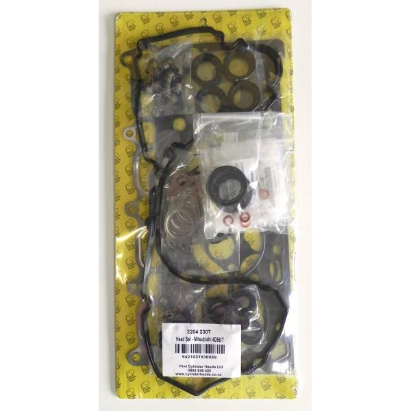 Mitsubishi 4D56U 16v Head Set and Gasket