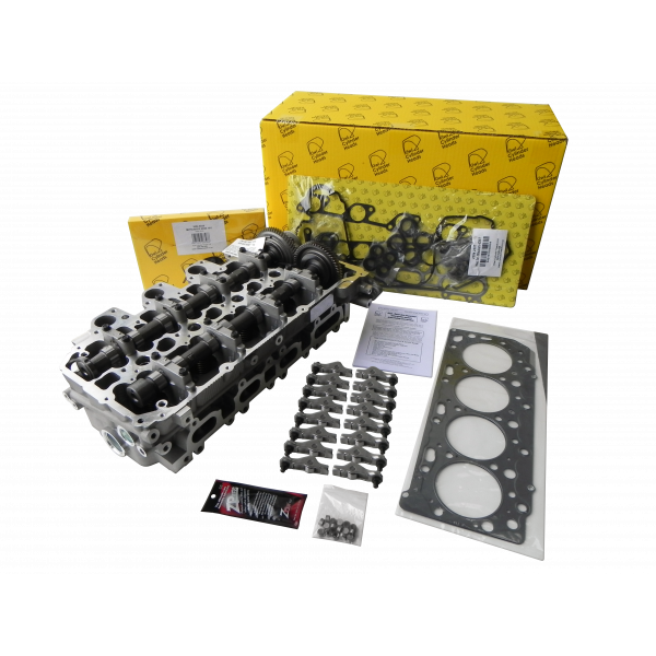 Mitsubishi 4D56 DOHC 16V Complete Cylinder Head Kit - Ready to Bolt On