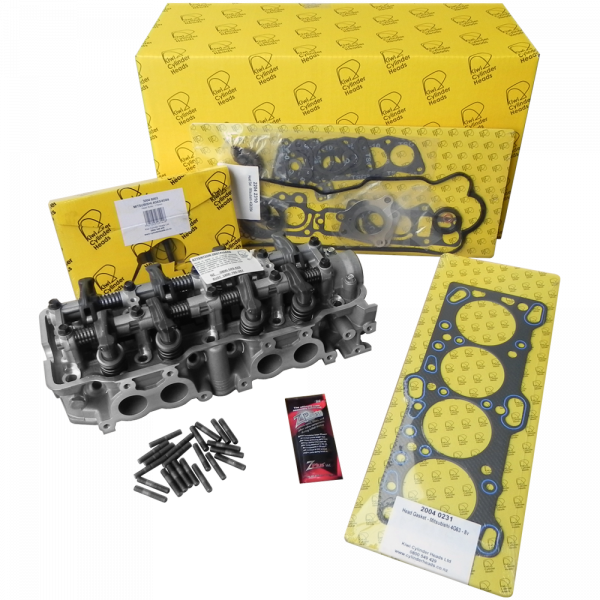 Mitsubishi 4G64 8V Complete Cylinder Head Kit - Ready to Bolt ON