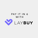 Pay it is 6 with Laybuy